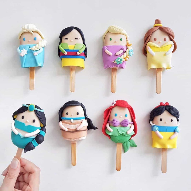 Shaun Teo Disney Cakesicles