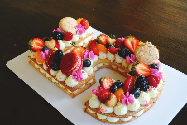 Birthday Cream Tart