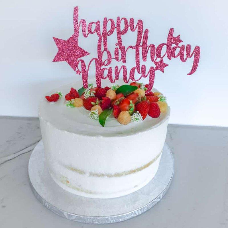 Cricut Happy Birthday