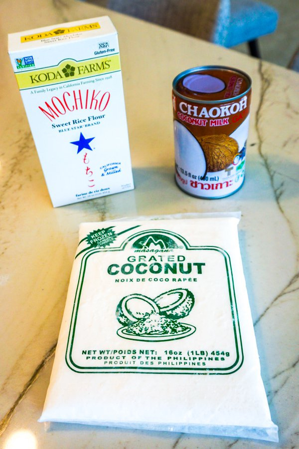 coconut mochi ingredients